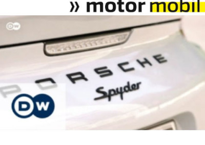 DW-TV | Ein Purist: der Boxster Spyder | Motor mobil