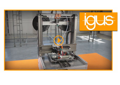BB One XYZ 3D-printer – DIY with igus® products