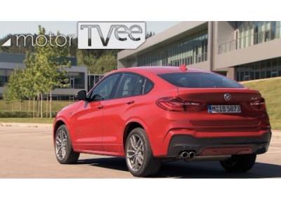 motorTVee | BMW X4 – BMW's smaller SAC