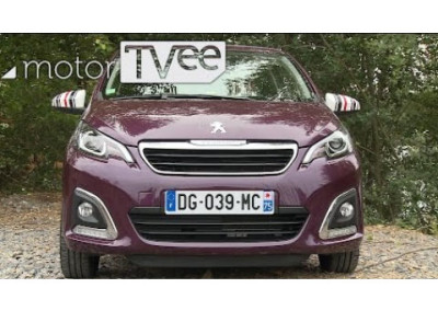 motorTVee | Peugeot 108 – new edition for the city