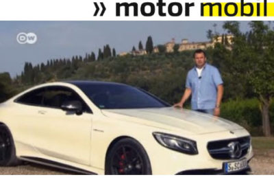 Im Test: Mercedes S 63 AMG Coupé | Motor mobil