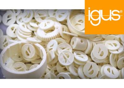 igus® | 3D printing with powder – SLS technology