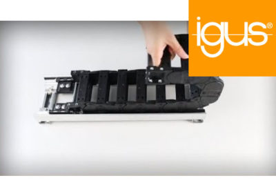 igus® | Assembly – Super Aluminium Support Tray