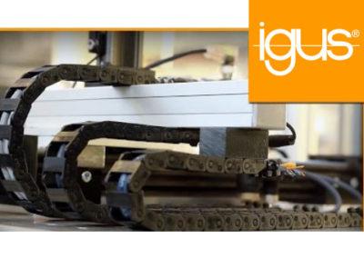 igus® | Initiatorleitungen mit sehr kleinem Biegeradius in Energieführungen!