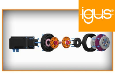 igus® Cycloid gear in low-cost robolink® joints