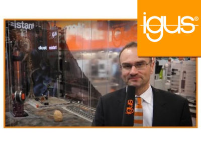 igus® HMI Messe Highlights 2017 DE