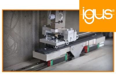 igus® Highly Wear-resistant Individual Tribo-optimised Industrial Profiles