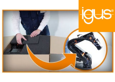 igus® Robot Arm Unboxing – low cost robolink® unpacking and quick setup