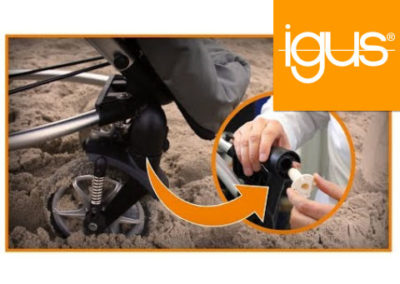 igus® Does that really have to be greased? 3D-printed solution for buggy wheel bearings