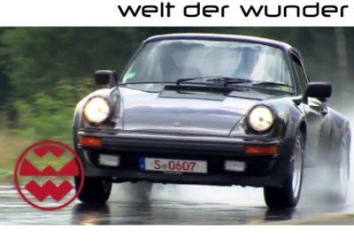Welt der Wunder | Reifentest bei Porsche – Welt der Wunder