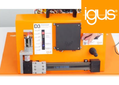igus® – dryve D3, DC-Motor Control System Assembly