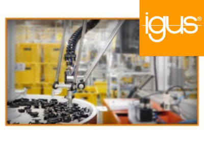 igus® – delta robot applications in assembly machine