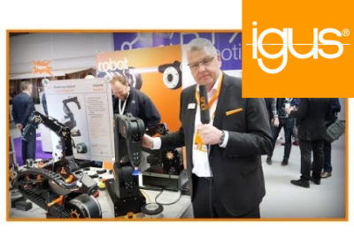 igus® – Top 12 motion plastics News straight from the Hannover Messe 2019