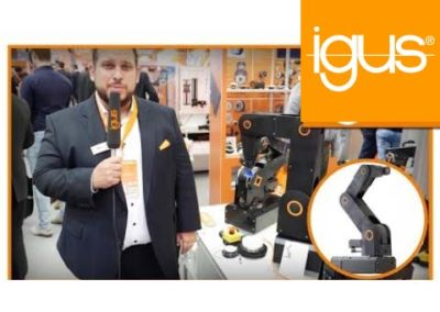 igus® – Robot Arm robolink® DP News