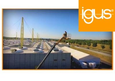igus® – Hubsteiger Energieketten Umrüstung