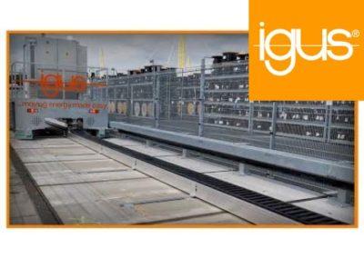 igus® – Lange Verfahrwege Tests im igus HQ