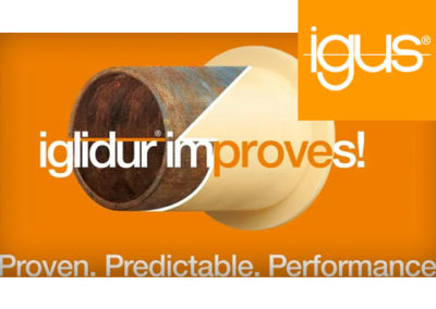 igus® – iglidur Gleitlager aus hochverschleißfesten Kunststoffen